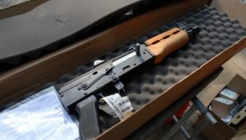 CNC Warrior Folding Arm Brace for Zastava M92 PAP - Ronin's Grips