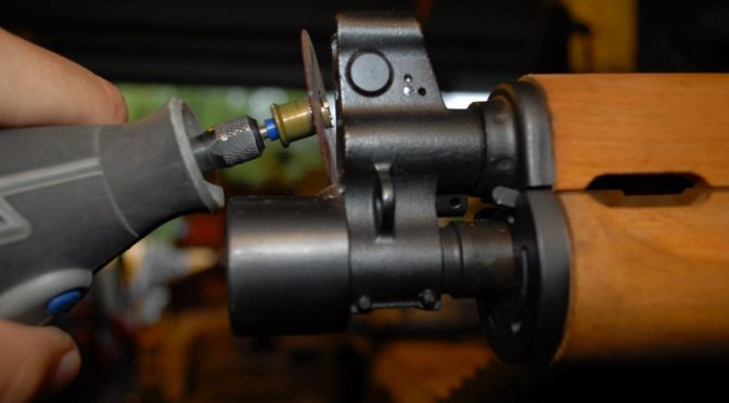 Removing the M92 PAP Muzzle Cap and Installing the Detent Pin