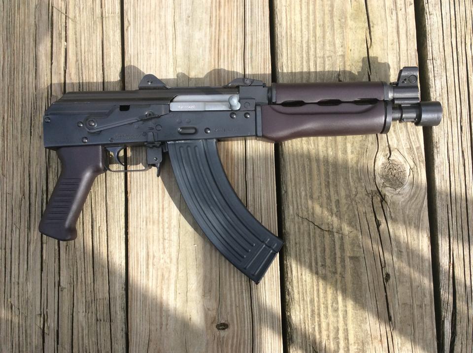 Scott Igert's Custom Yugo M92 PAP with Dark Russian Plum