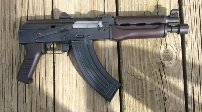 Scott Igert's Custom Yugo M92 PAP with Dark Russian Plum Furniture