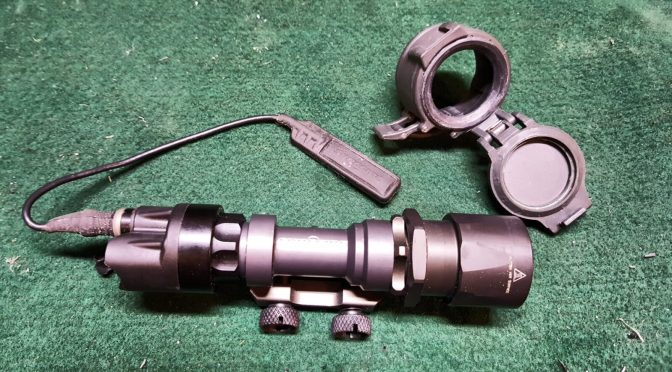 How to upgrade Surefire M951 Weapons Light with a $10-20 LED Reflector