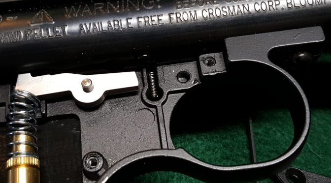What to do if the Crosman 2240 safety spring and detent ball fall