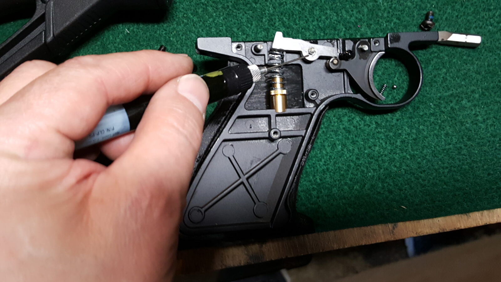 What to do if the Crosman 2240 safety spring and detent ball