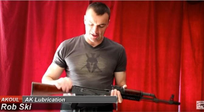 Video:  How to Lubricate Your AKM (AK47) and AK74 Rifles – AK Operators Union 47-74