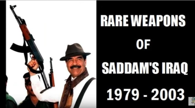 Video:  Rare Weapons of Saddam's Iraq 1979 to 2003 by jmantime