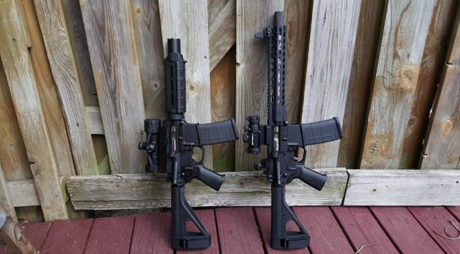 Assembling an AR Lower – Step 10 of 11:  Installing the Upper Receiver Assembly
