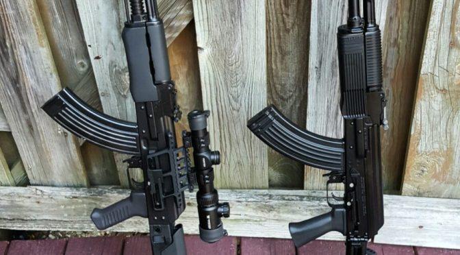 The Custom Yugo M72 Carbine and Vepr FM-AK47-21 Meet