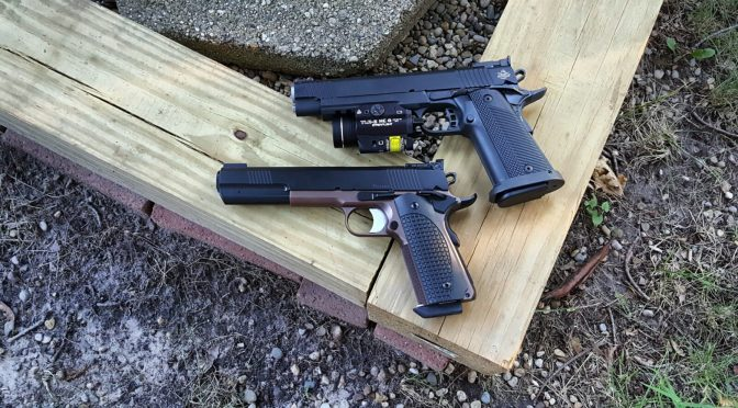 The Dan Wesson Bruin and RIA Big Rock Meet – Side By Side Photos