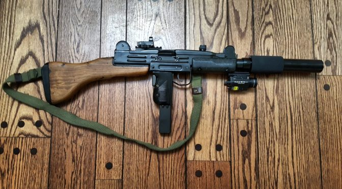Uzi Part 7 of 7:  The Bolt and Final Assembly of the Semi-Auto Uzi Carbine