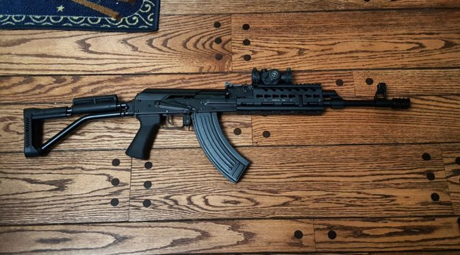 A Chaos Rail on a FM-AK47-21 Vepr Rocks!