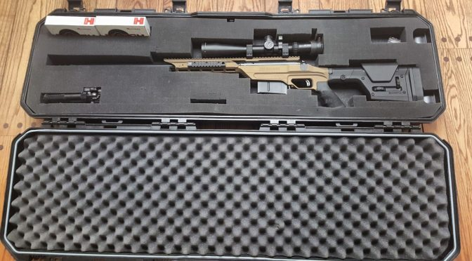 Tailoring Plano's New 52″ All Weather Series 2 (AW2) Case For a 48″ OAL .338 Lapua Savage Stealth Evolution