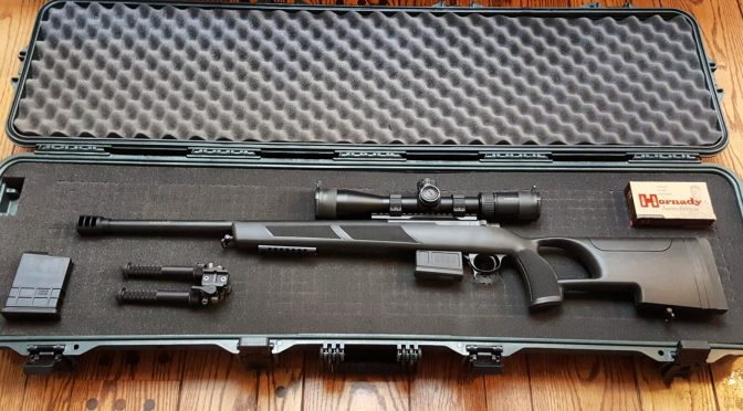 Installing the Vortex PST Gen 2 Scope and Making the Plano Case for the Sabatti Urban Sniper