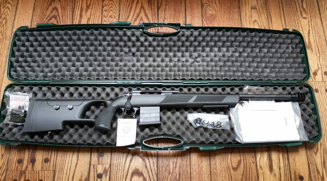 First Impressions of the Sabatti Urban Sniper Out of The Box