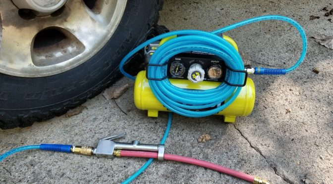 Ryobi  P739 18 Volt Compressor Is Very Handy And Is Holding Up Great!