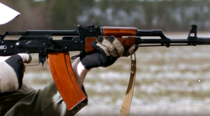 Very Cool Slow Motion Video of AK-74 Operating – See It From Many Angles