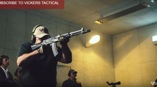 Watch This Amazing Video of Larry Vickers Shooting the AK-107 With No Recoil