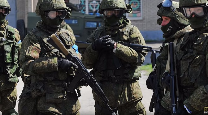"""Understanding The Histories of Some of the Special Operations """"Spetsnaz"""" groups in Russia Today"""