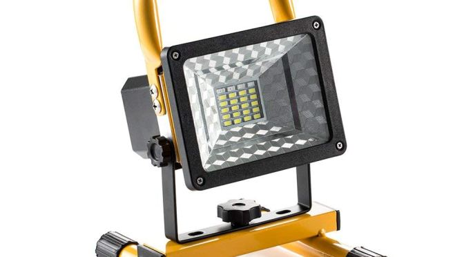 This Rechargeable LED Worklight is Bright, Long-Lasting and Very Affordable