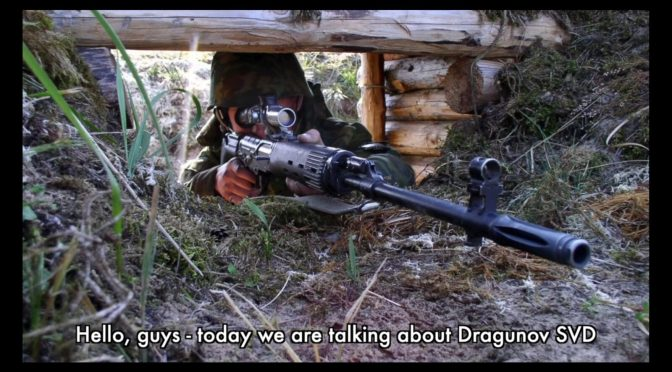 Video: Max Popenker Discusses the History of the Russian SVD Designated Marksman's Rifle