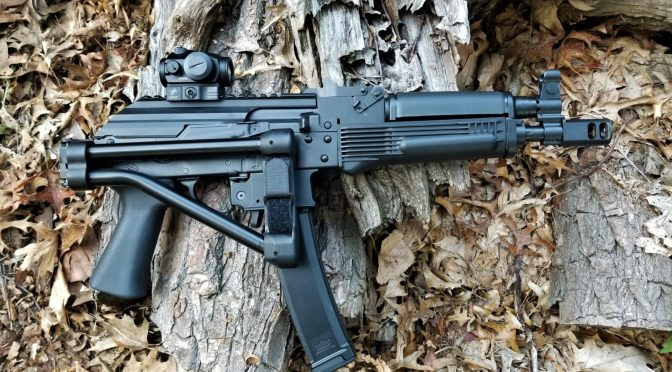 Converting the PSA AK-V To Look Like A Russian Vityaz-SN PP-19-01