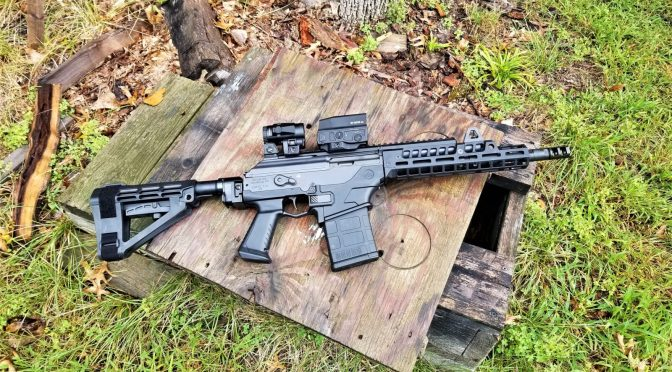 Customizing An IWI Galil Ace Pistol – Installing a RS Regulate Handguard, SBA4 Brace & Vortex Optics