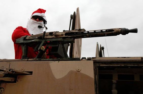 Tactical Santa Images
