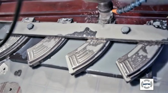 Video: Matra Group Manufacturing AK-47 and AK-74 Steel Magazines: From Sheet Metal To The Finished Products