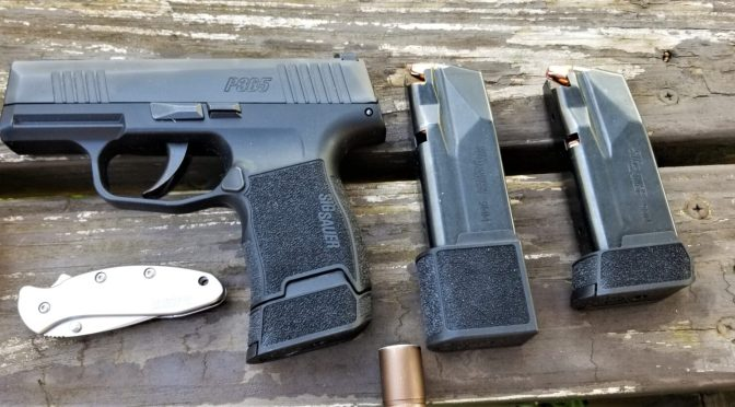 SIG P365 Video Reviews Of This Excellent Concealed Carry Pistol