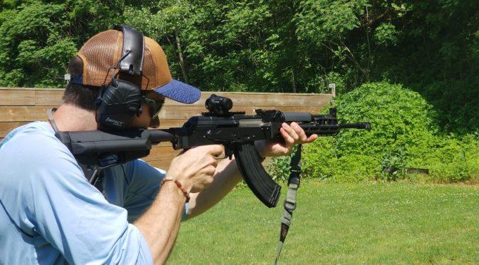 PSA AK-E:  First Range Trip