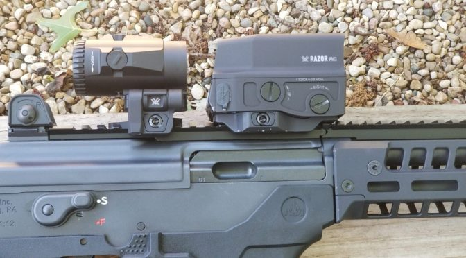 The Vortex UH-1 Sight and V3XM Magnifier Are  An Amazing Combination On A Galil Ace Pistol