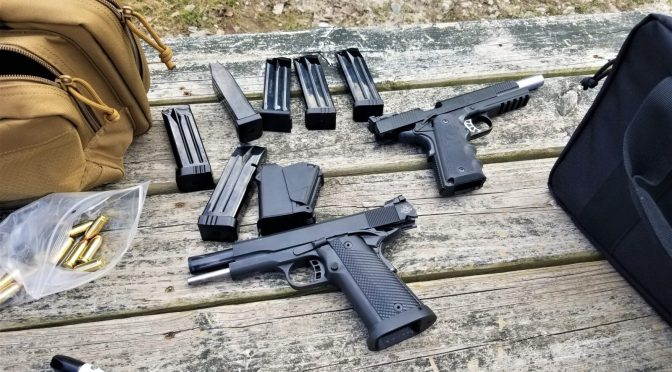 Range Report For The Desert Eagle 1911, RIA Rock Ultra FS HC, and Springfield Armory 6″ TRP Operator 10mm Pistols