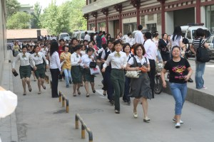 Earthquake in Xi'an, Shaanxi province, China