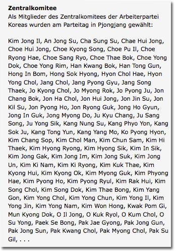 Kim Jong Galore