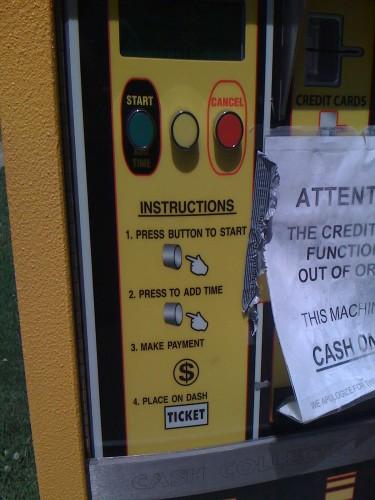 Machine instructions in Helvetica