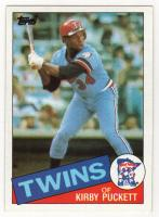 Kirby Puckett rookie card