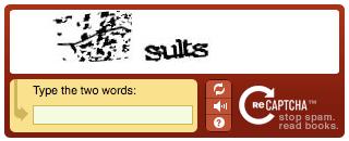 reCAPTCHA Rorschach