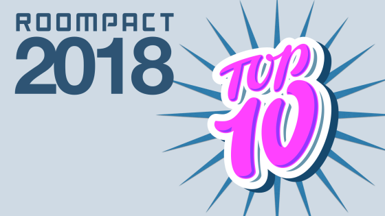 Roompact Blog Top 10 of 2018