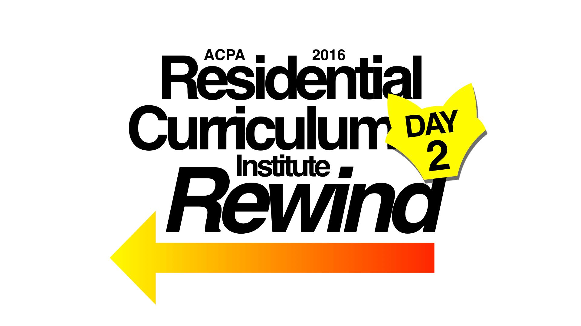 ACPA RCI 2016 Day 2 Recap