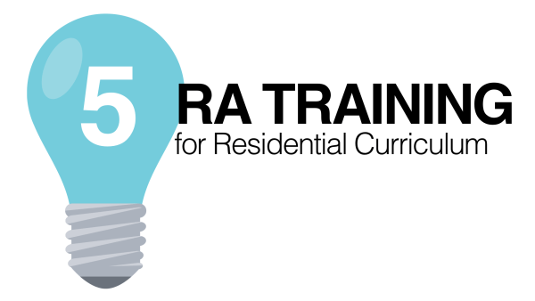 RA Training For Residential Curriculum Part 5