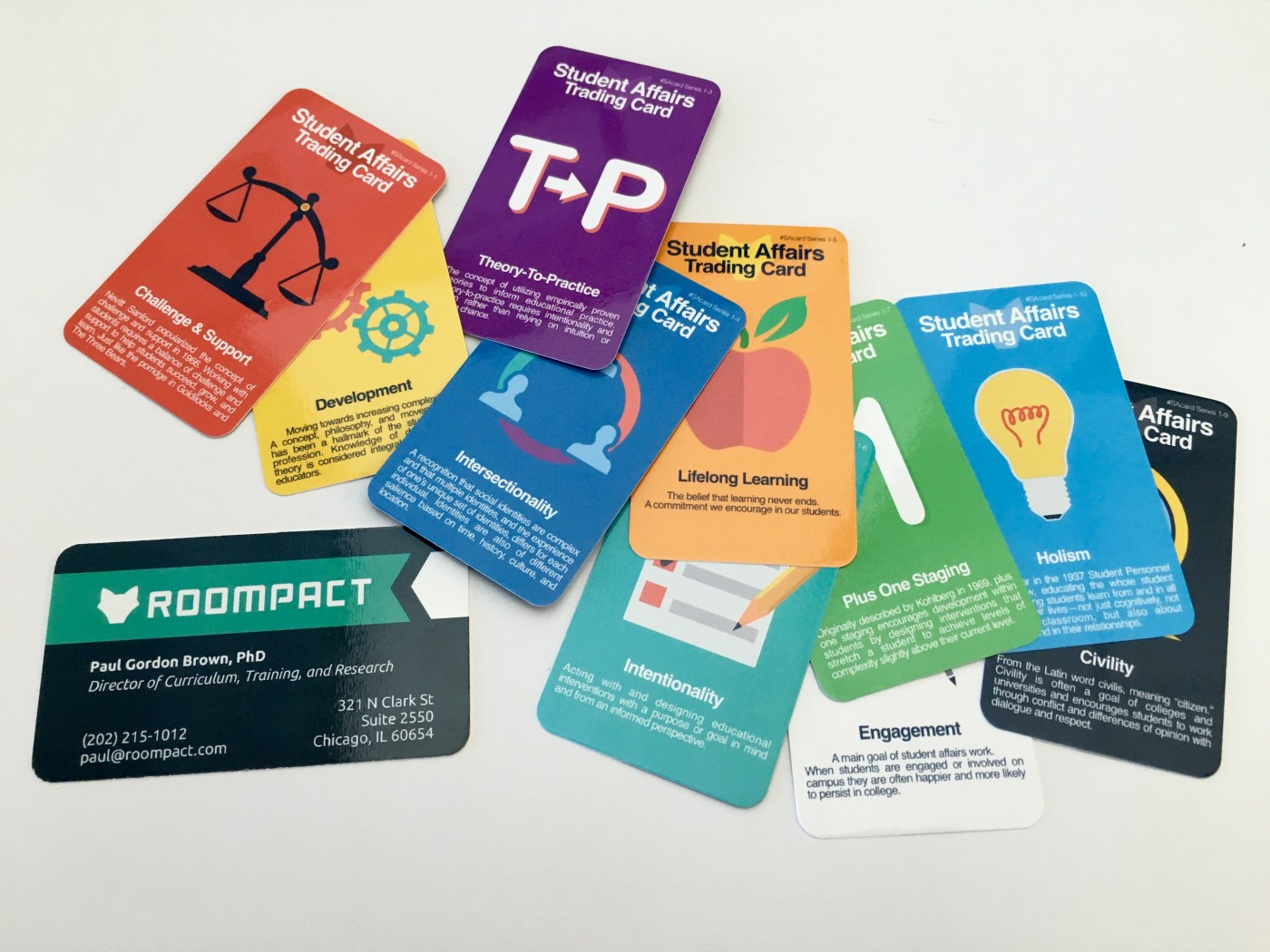 Student Affairs Trading Cards Business Cards