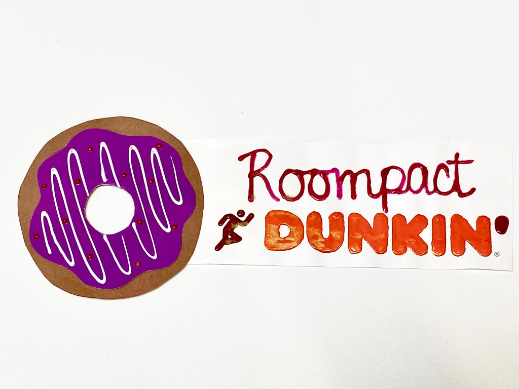 Dunkin Donuts Door Dec