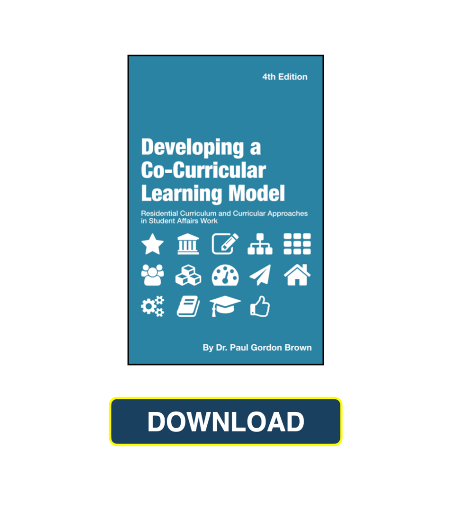 Residential Curriculum and Curricular Approaches Book Download Now