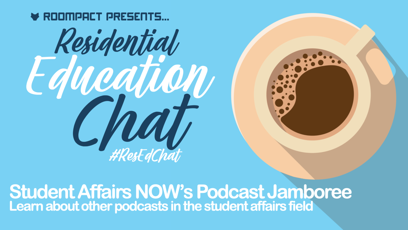 ResEdChat with Student Affairs NOW