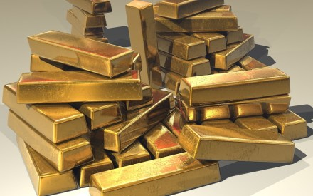 Symbolbild Goldbarren