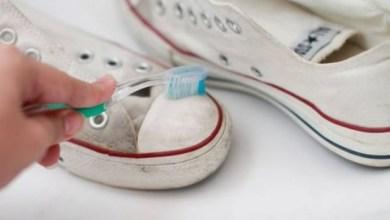 التركيبة السحرية لتنظيف الاحذية البيضاء