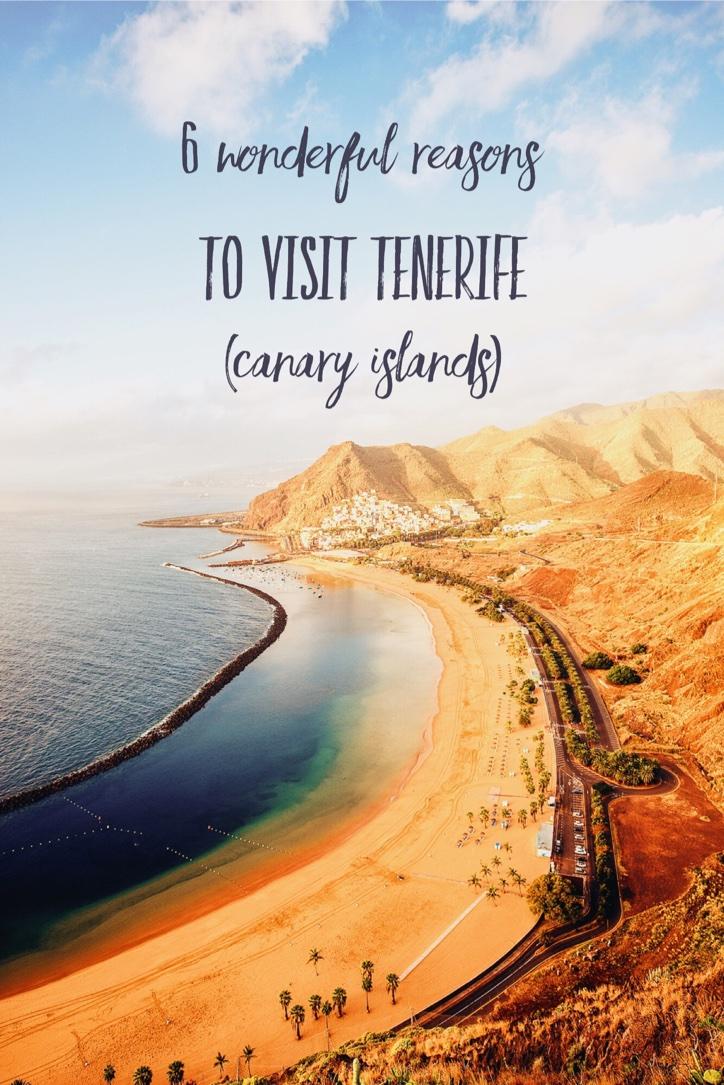 6 wonderful reasons to visit Tenerife (Canary Islands)