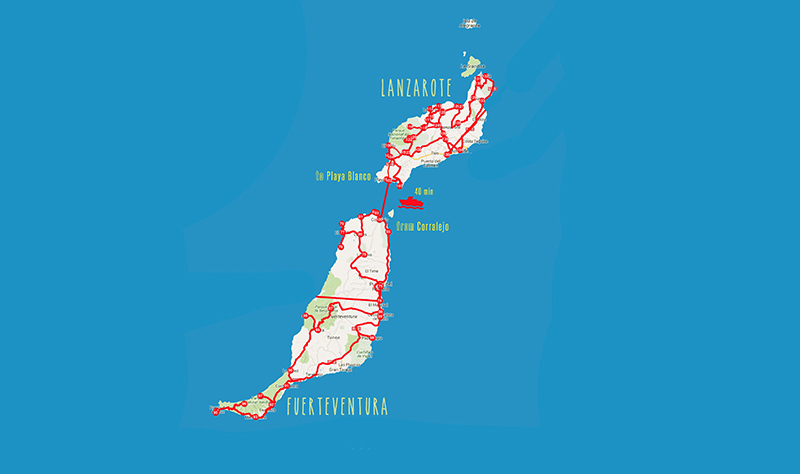 Fuerteventura - Lanzarote web