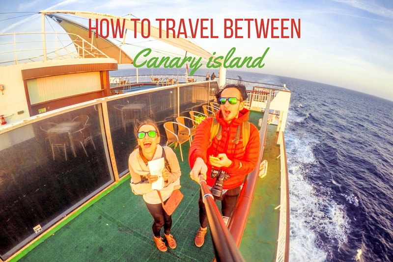 4 How to travel between Canary Islands