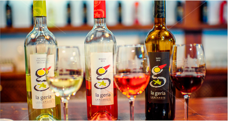 6 wine la Geria Lanzarote, Canary Islands