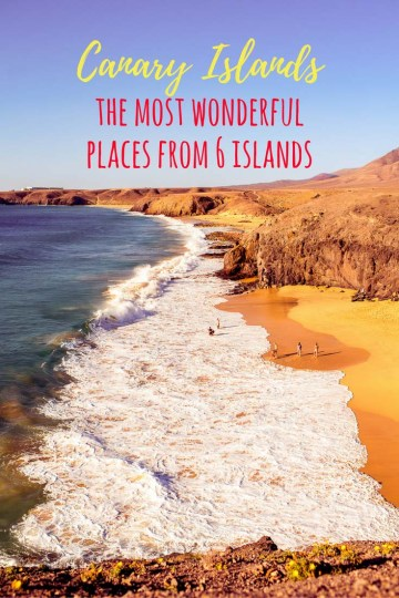 Canary Islands - the most wonderful places from 6 islands